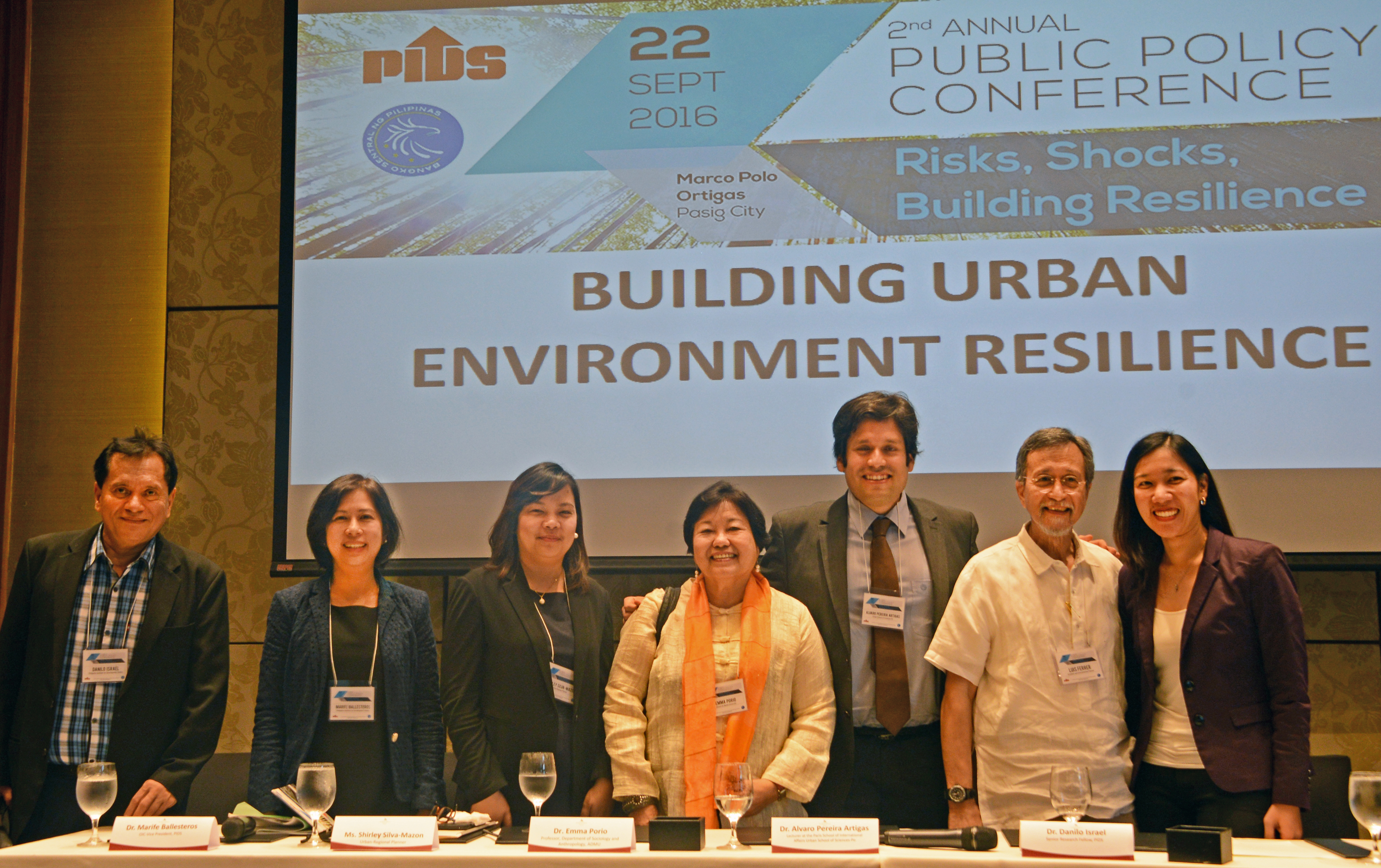 Experts recommend adopting a holistic approach to urban environment resilience