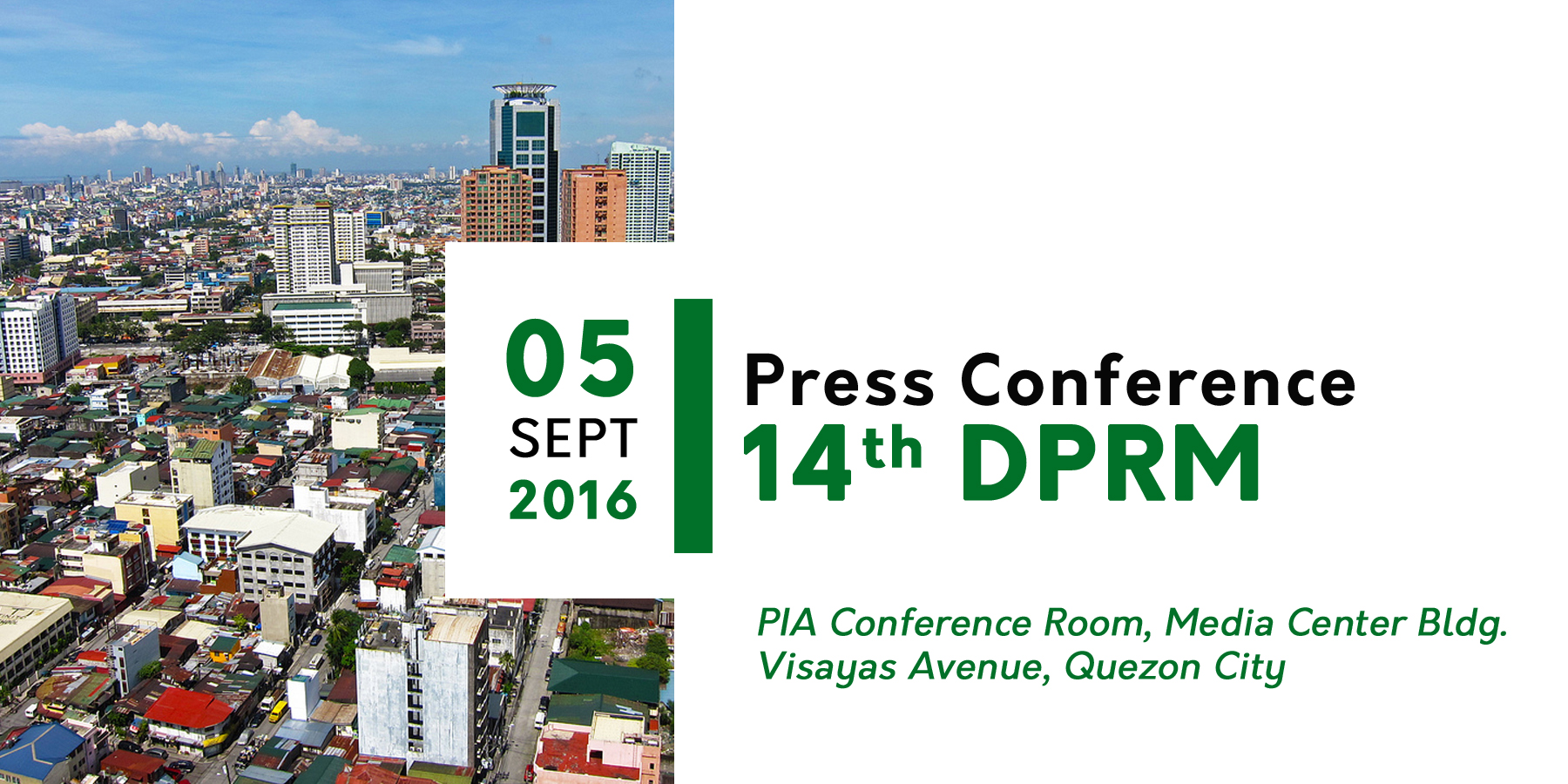 PIDS, PIA to hold press conference to herald start of DPRM 2016